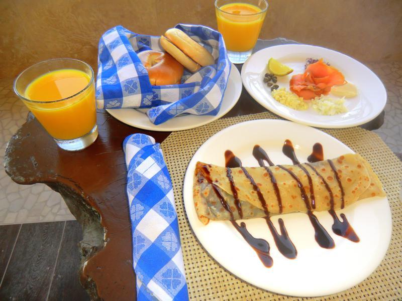 Leckeres Frühstück im Sandals LaSource Grenada Resort and Spa