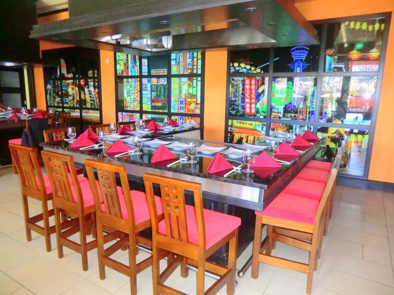 Kimonos, ein orientalisches Restaurant mit Live-Küche
