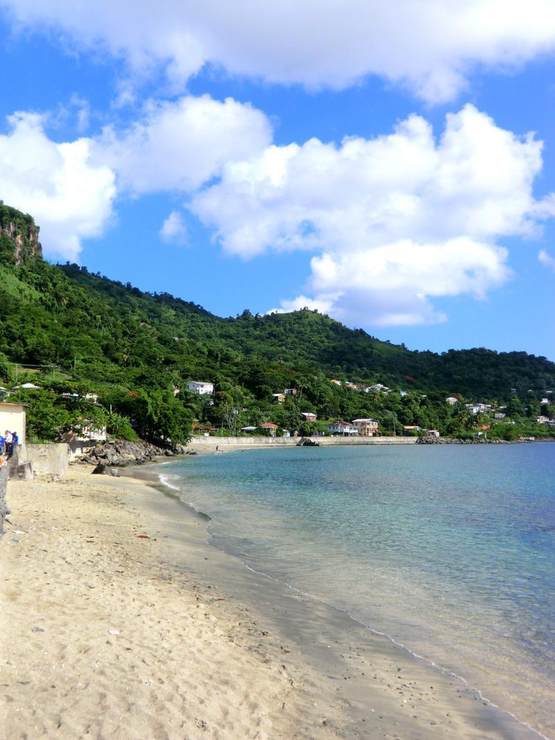 Die Grand Mal Bay auf Grenada