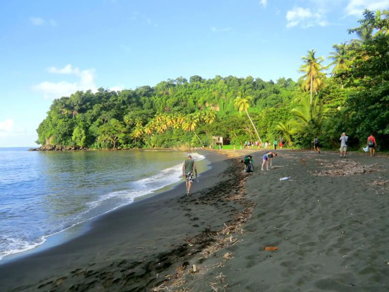 Die Black Bay and der Westküste von Grenada