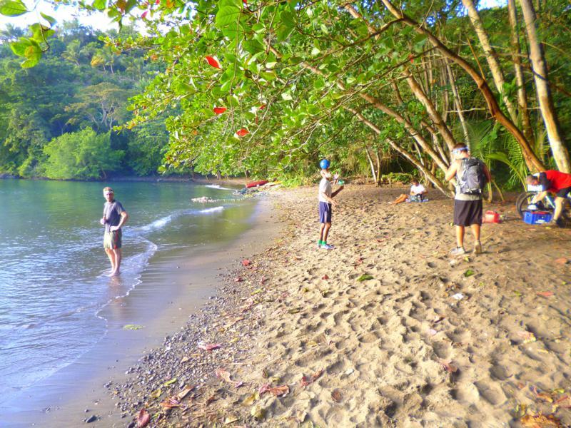 Der Woodford Beach an der Westküste von Grenada