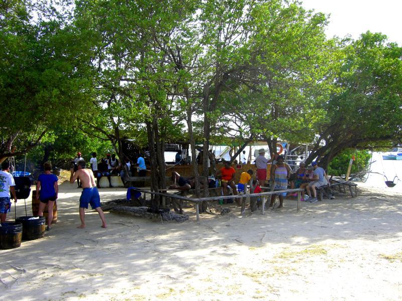 Hog Island, eine kleine Insel vor Grenada