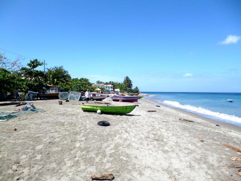Der Gouyave City Beach auf Grenada