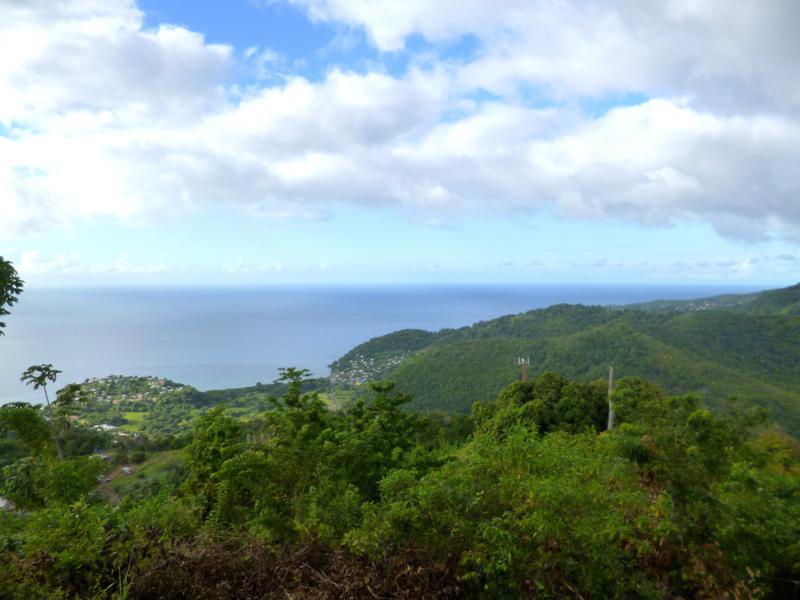 Ausblick von Mount Moritz in Grenada