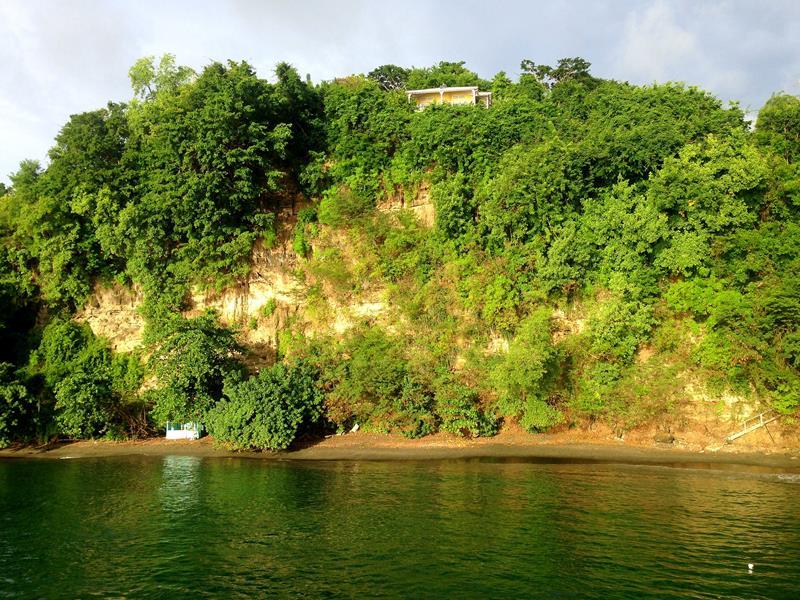 Die grüne Westküste von Grenada