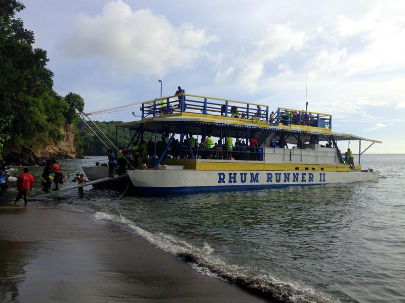 Der Rhum Runner auf Grenada