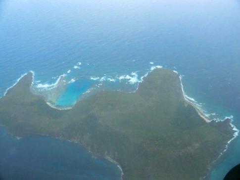 Flug mit Grenadine Airways - Blick auf die Inseln der Grenadinen