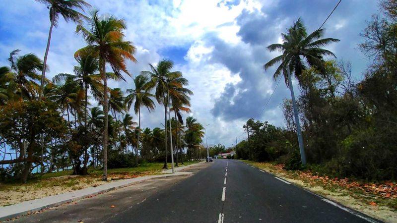 Mit dem Mietwagen über Marie-Galante, eine Insel des Guadeloupe-Archipels