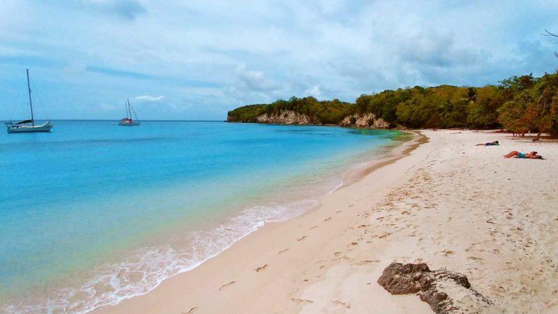 Der schönste Strand auf Marie-Galante, der Anse Canot