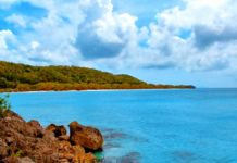 Ein Strand neben dem Anse Canot, der Plage du Moustique