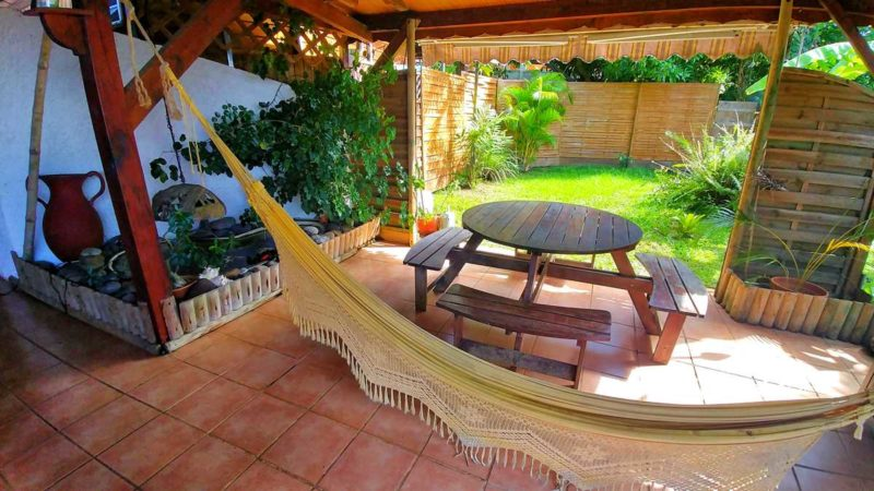 Das Hostelbana in Capesterre Belle-Eau auf Guadeloupe
