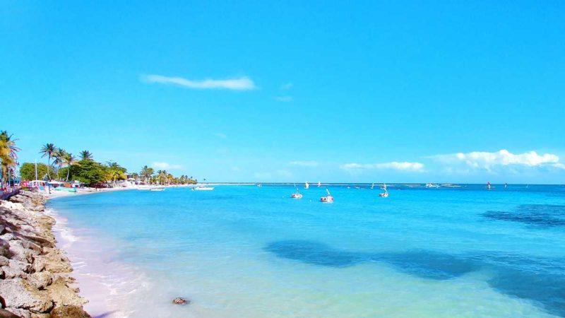 Traumhafte Strände in Sainte Anne auf Guadeloupes Inselteil Grande-Terre
