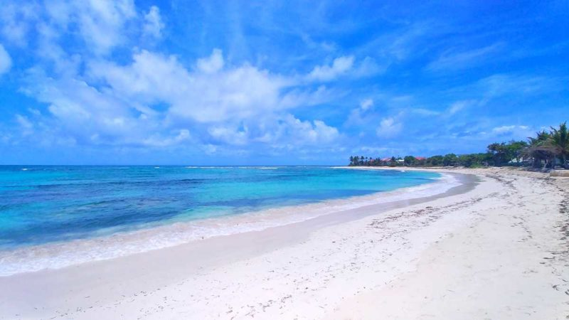 Traumhafte Strände in Sainte Francois auf Guadeloupes Inselteil Grande-Terre