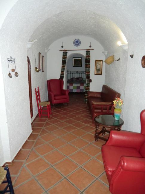 Unsere Höhlenwohnung in den Cuevas Pedro Antonio de Alarcon in Guadix