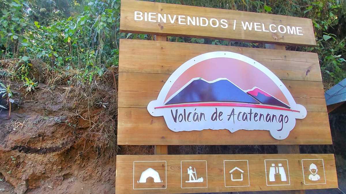 Acatenango, der höchste Vulkan rund um Antigua