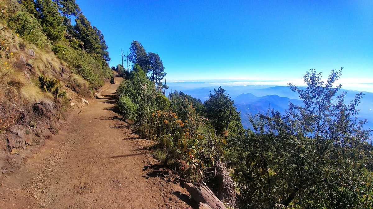 DDie Wanderung zum Acatenango-Vulkan