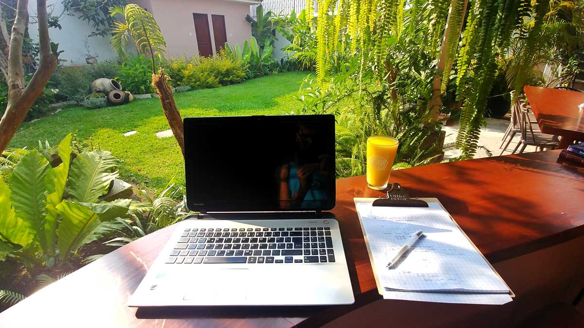 Arbeiten als Digitaler Nomade im Ojala Hotel