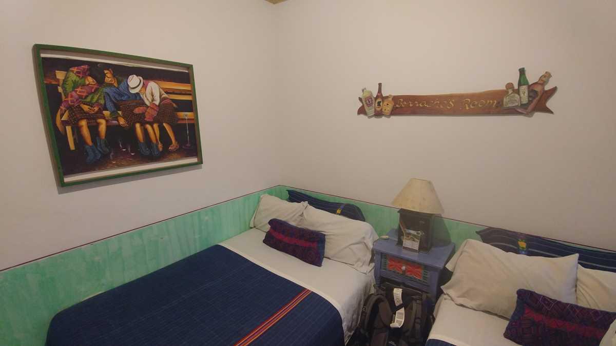 Das Yellow House Hostel in Antigua, eine meiner Unterkünfte in Guatemala