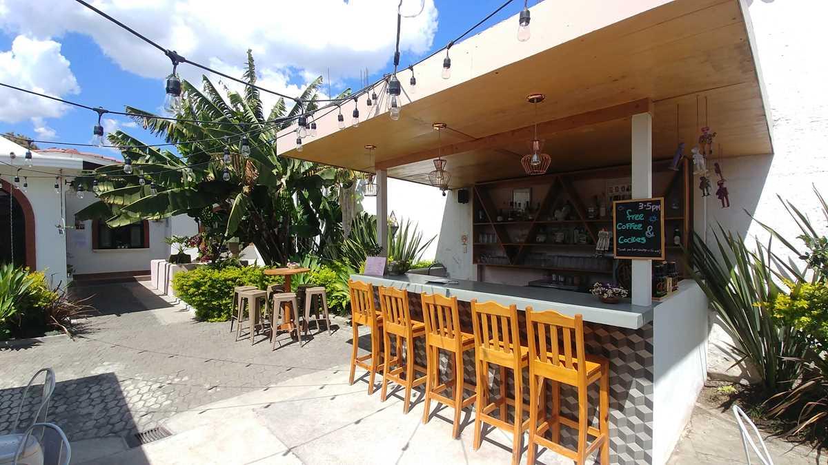 Das Maya Papaya Hostel in Antigua, eine meiner Unterkünfte in Guatemala