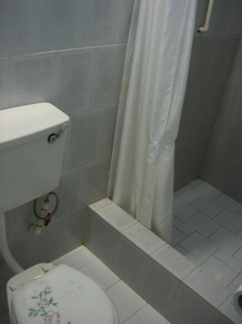 WC und Dusche im Platinum Inn Hotel in Bartica