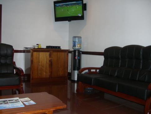 Lounge am Flughafen Georgetown Ogle von Air Services Limited