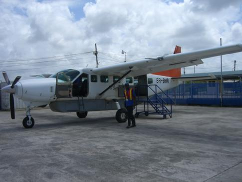 Cessna Grand Caravan 208B von Air Services Limited am Flughafen Georgetown Ogle