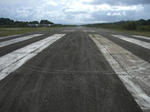 Start- und Landebahn des Kaieteur Falls Airport