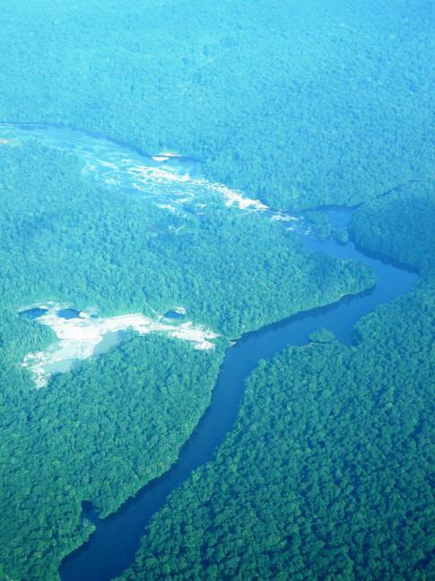 Die einzigartige Landschaft von Guyana