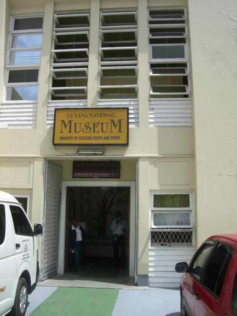 Das Guyana National Museum in Georgetown