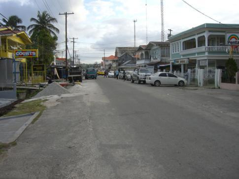 Die First Avenue in Bartica