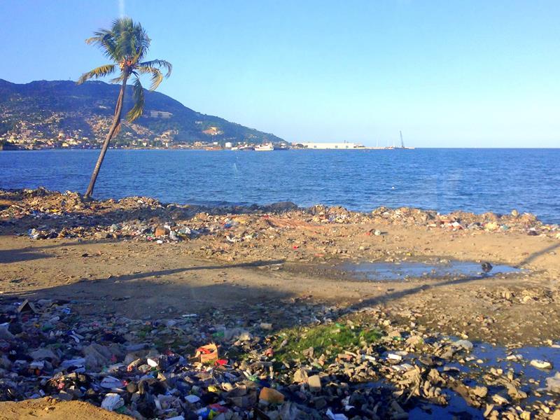 Ankunft in Cap-Haitien bei Chaos und Müll