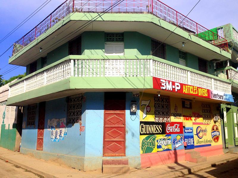 Einige historische Häuser zeigen von der schönen Seite Cap-Haitiens