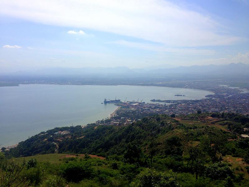 Ausblick vom Vigie Mountain auf Cap-Haitien