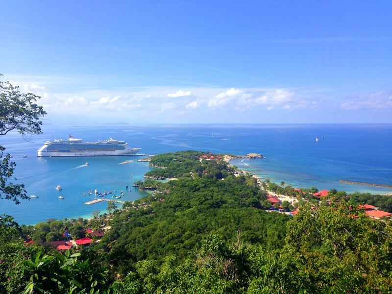 Labadie, ein Stück Land, was Royal Caribbean von Haiti gepachtet hat