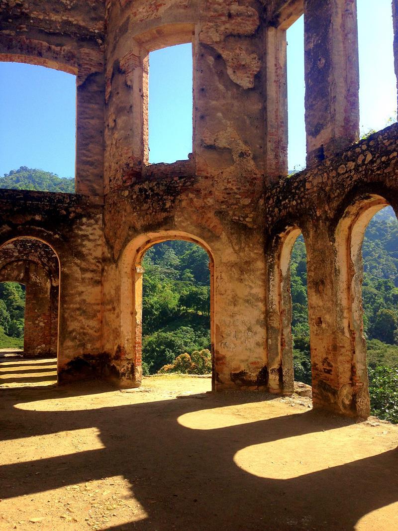 Sanssouci, die beeindruckende Palastruine bei Cap-Haitien