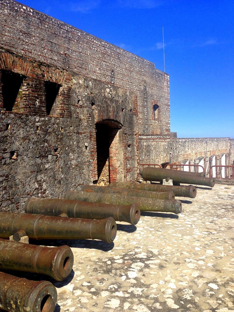 Die beeindruckende Festung Laferriere und zugleich die wohl spektakulärste Sehenswürdigkeit von Haiti