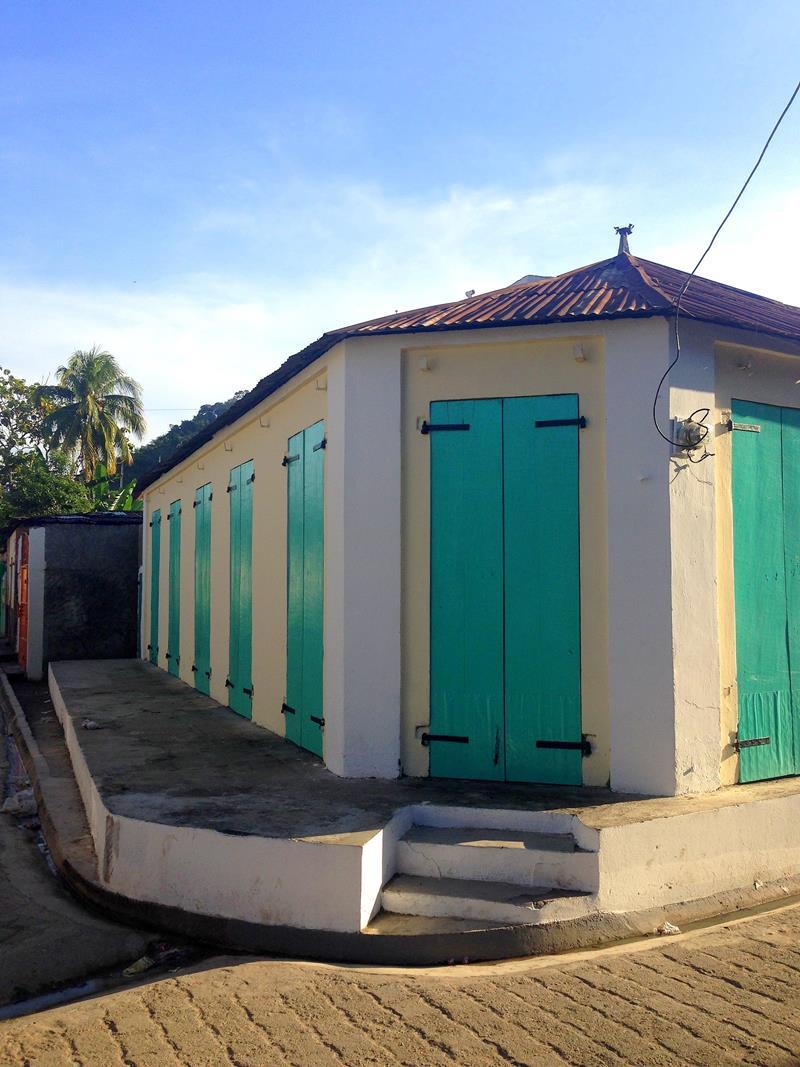 Die kleine Stadt Grande-Riviere du Nord, Geburtsort von Jean-Jacques Dessalines