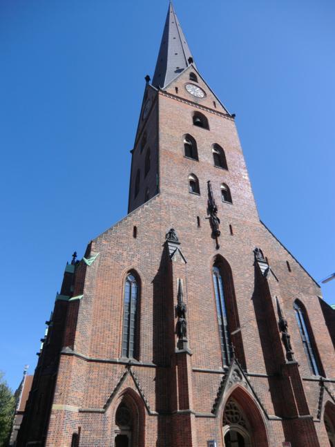 Die St. Petrikirche in Hamburg, die älteste Kirche der Stadt