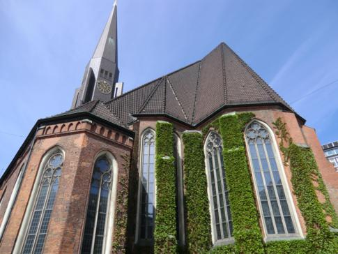 Die St. Jacobikirche in Hamburg