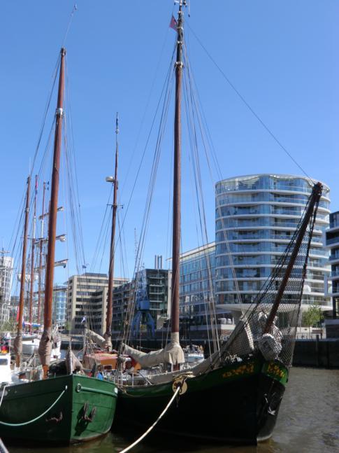 Modernes Design und maritimes Flair in der HafenCity