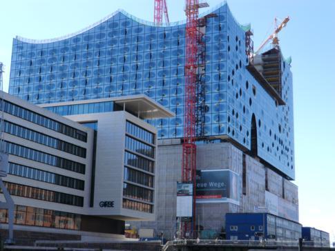 Die Elbphilharmonie in der HafenCity Hamburg