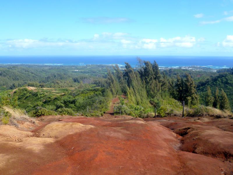 Wanderung auf Oahu in der Nähe von Laie