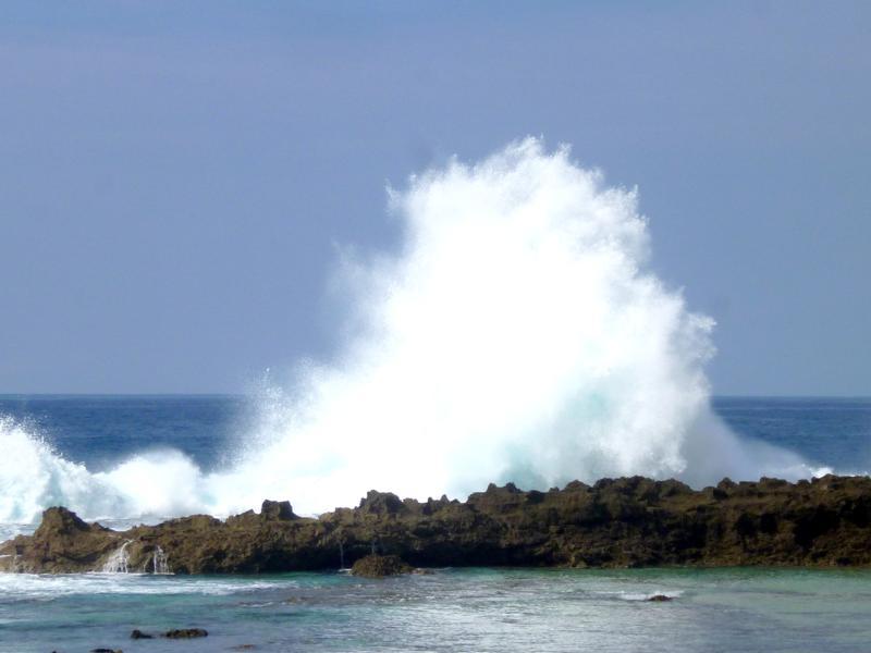 Die beeindruckende Pupukea Bay an der North Shore von Oahu