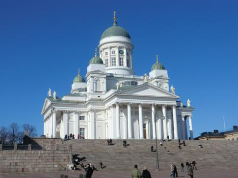 Der Dom von Helsinki, die Suurkirkko