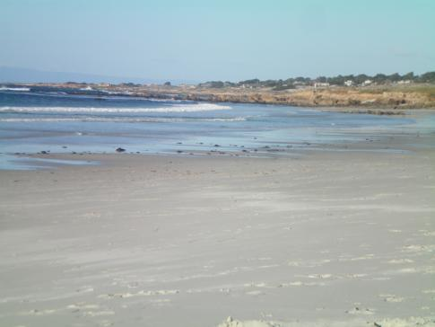 Der 17 Mile Drive in Pebble Beach: Spanish Bay