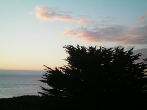 Highway No. 1 zwischen Monterey und Big Sur