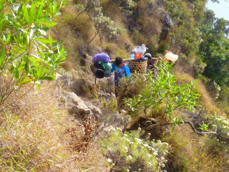 Wanderung auf den Mount Rinjani auf Lombok
