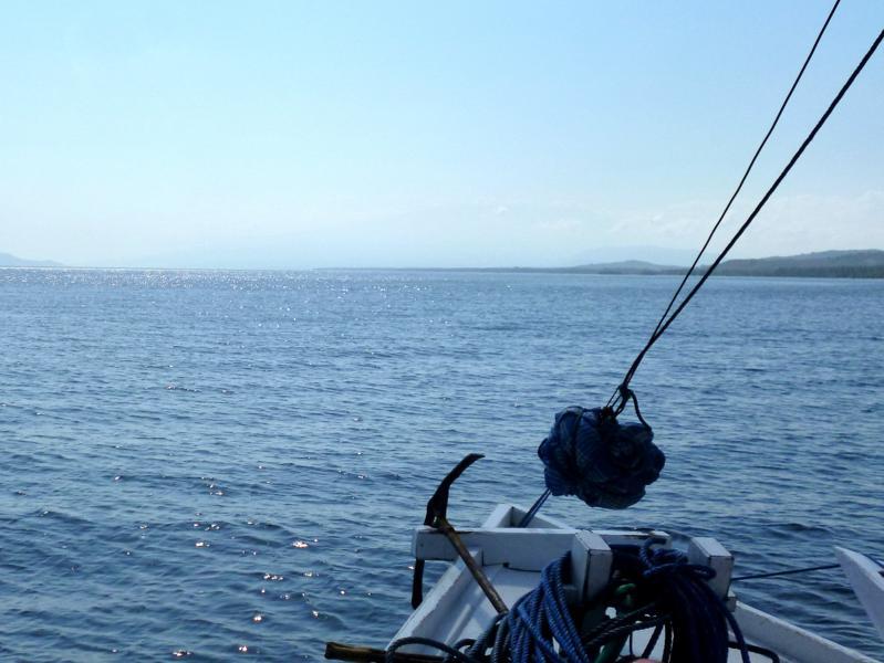 Paradies-Feeling auf dem Meer