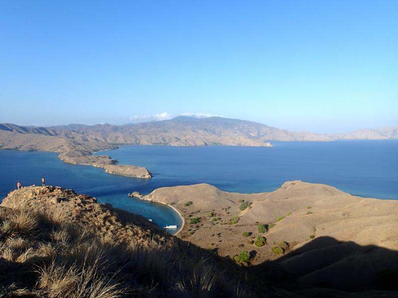 Wanderung und spektakulärer Ausblick auf Gili Laba