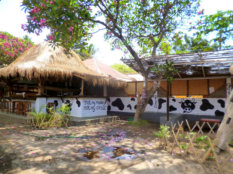Das Gili Air Hostel auf Gili Air